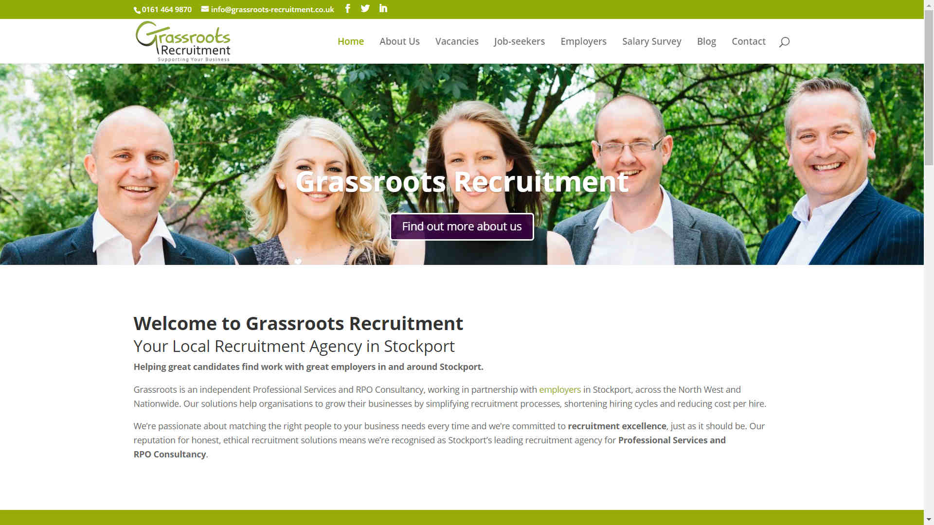 Grassroots Site
