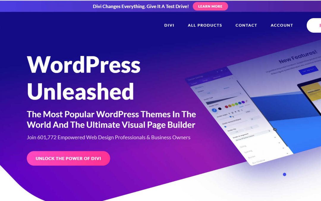 Elegant Themes Divi Black Friday Sale The Last Theme You will Ever Need!